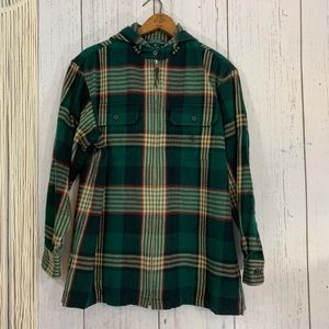 Ralph Lauren Plaid Hooded Plaid Jacket